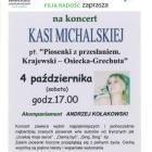 Koncert Kasi Michalskiej